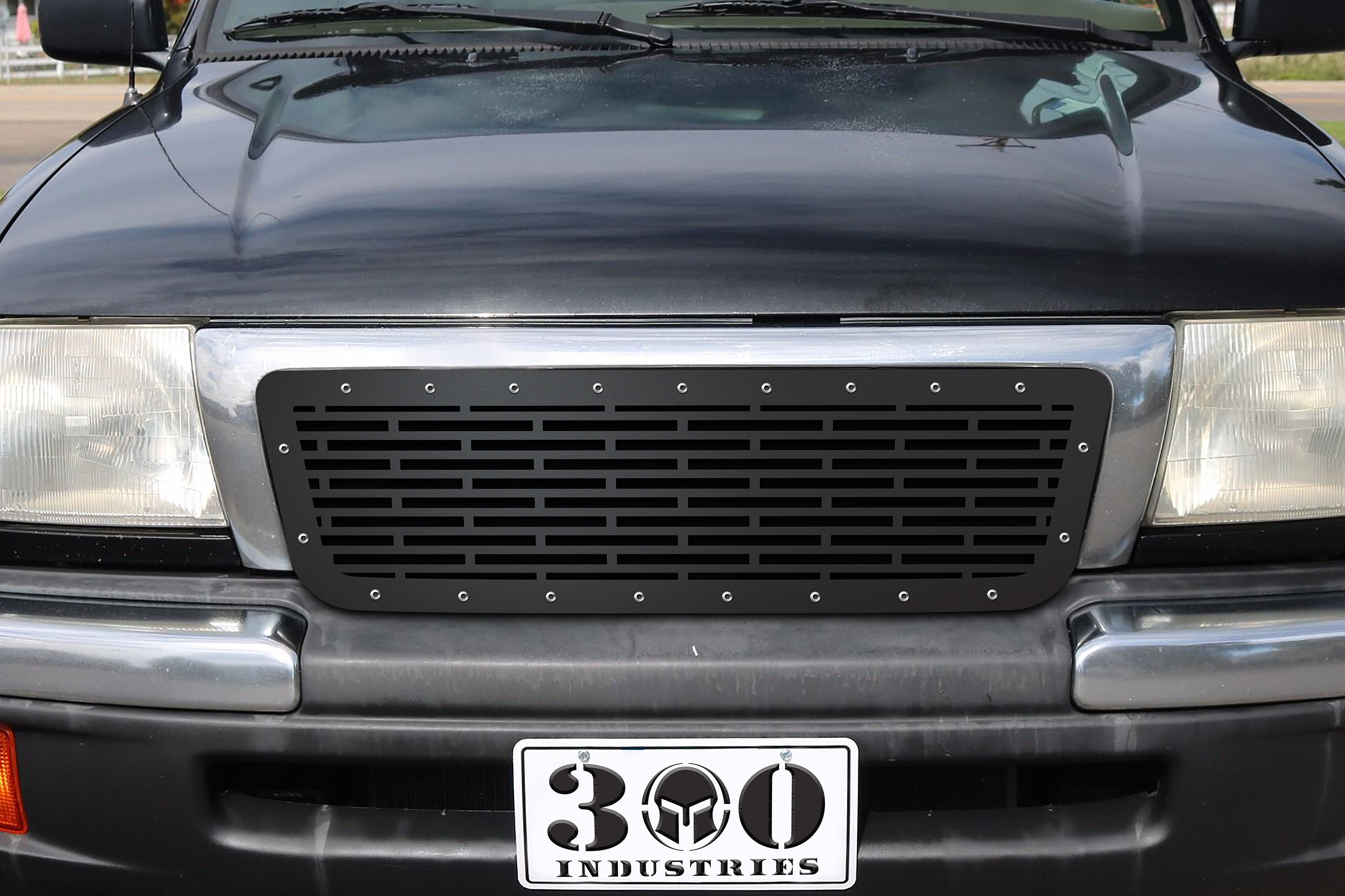 1 Piece Steel Grille for Toyota Tacoma 1998-2000