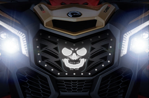 1 Piece Steel LED X-Lite Grille CanAm Maverick X3 - HAVOC