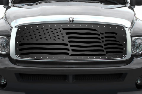1 Piece Steel Grille for Dodge Ram 1500/2500/3500 2002-2005 - AMERICA