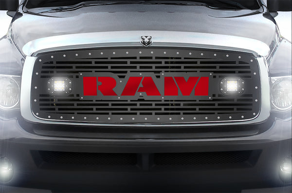 1 Piece Steel Grille for Dodge Ram 1500/2500/3500 2002 ...