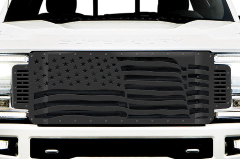 1 Piece Steel Grille for Ford SuperDuty F250/F350 2017-2019 | AMERICA - WAVE
