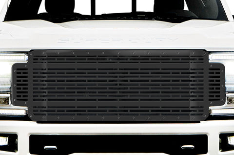 1 Piece Steel Grille for Ford SuperDuty F250/F350 2017-2019 | BRICKS