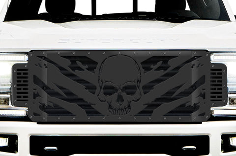 1 Piece Steel Grille for Ford SuperDuty F250/F350 2017-2019 | NIGHTMARE