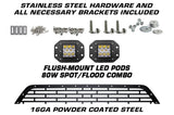 Ford F150 2018-2020 Lower Bumper with LED pods