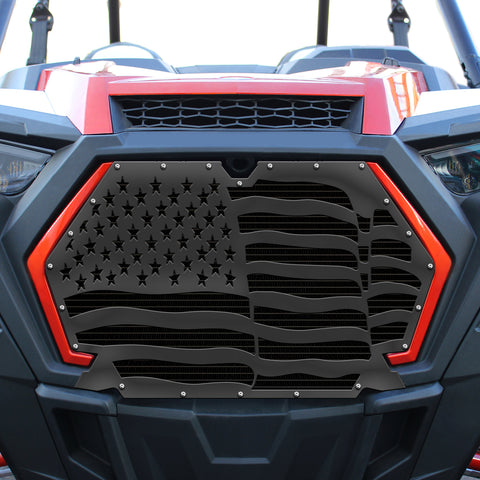 1 Piece Steel Grille for Polaris RZR Turbo/Turbo S 2019-2020 - AMERICA
