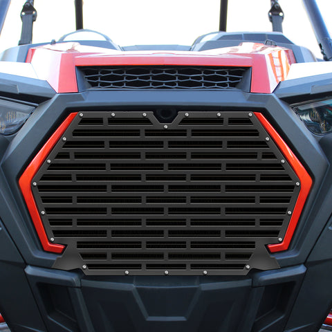 1 Piece Steel Grille for Polaris RZR Turbo/Turbo S 2019-2020 - Bricks