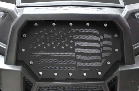 1 Piece Steel Grille for Polaris RZR 1000 2014-2018 - AMERICA