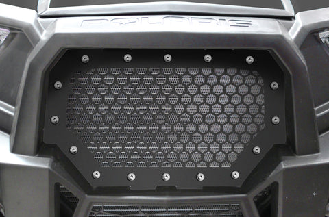 1 Piece Steel Grille for Polaris RZR 1000 2014-2018 - HEX