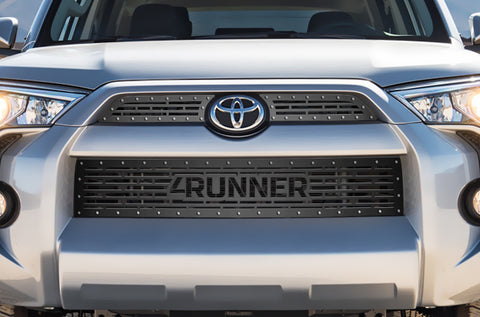 3 Piece Steel Grille for Toyota 4 Runner 2014-2017 - 4 RUNNER