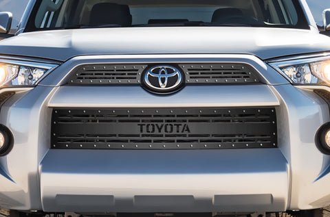 3 Piece Steel Grille for Toyota 4 Runner 2014-2017 - TOYOTA