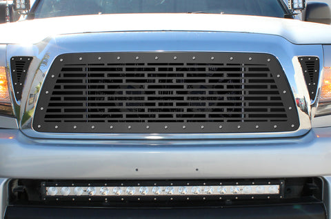 3 Piece Steel Grille for Toyota Tacoma 2005-2011 - BRICKS