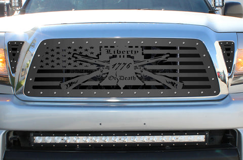 3 Piece Steel Grille for Toyota Tacoma 2005-2011 - LIBERTY