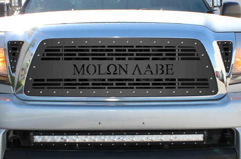 3 Piece Steel Grille for Toyota Tacoma 2005-2011 - MOLON LABE