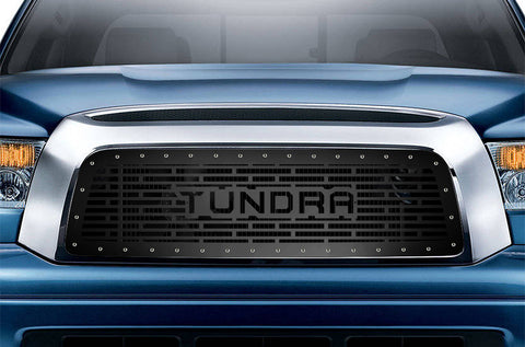 1 Piece Steel Grille for Toyota Tundra 2007-2009 - TUNDRA