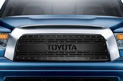 1 Piece Steel Grille for Toyota Tundra 2007-2009 - TOYOTA V2