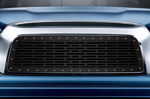 1 Piece Steel Grille for Toyota Tundra 2007-2009 - BRICKS