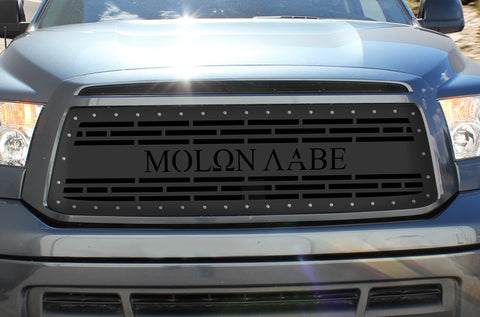 1 Piece Steel Grille for Toyota Tundra 2010-2013 - MOLON LABE