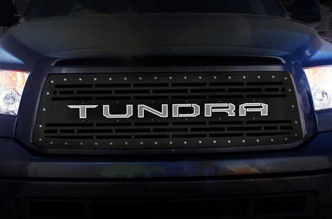 1 Piece LED X-Lite Steel Grille for Toyota Tundra 2010-2013