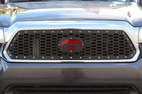 1 Piece Steel Grille for Toyota Tacoma 2012-2015 -