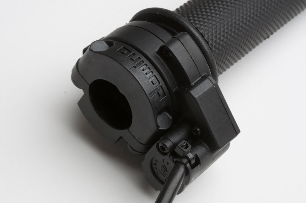 High Performance, Domino Twist-Grip Throttle with Microswitch