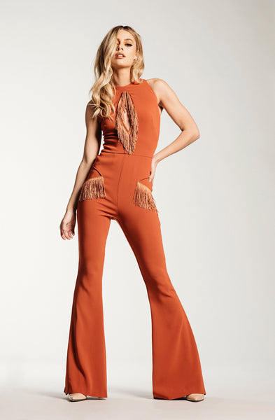 Bird of Paradise Jumpsuit - Cali Poppy