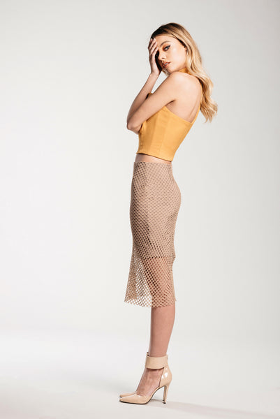 Fawn Mesh Skirt - Demartini