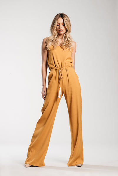 Iris Tassel Jumpsuit - Demartini