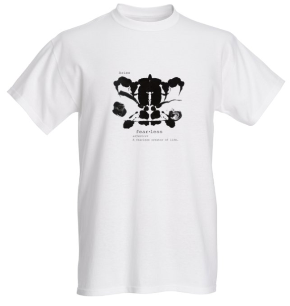 Aries Astrology T Shirt - Demartini