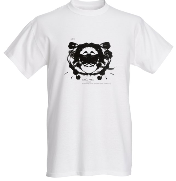 Leo Astrology T Shirt - Demartini