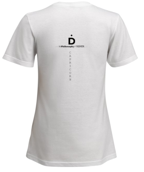 Capricorn Astrology T Shirt - Demartini
