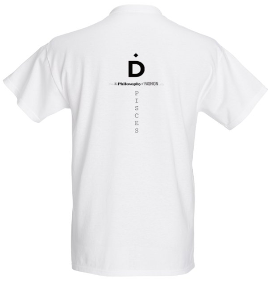 Pisces Astrology T Shirt - Demartini