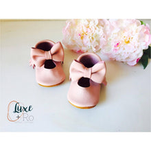 Mary Janes - Baby pink & Big bow