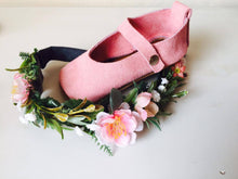 Mary Janes - Soft Pink Suede - LUXE + RO