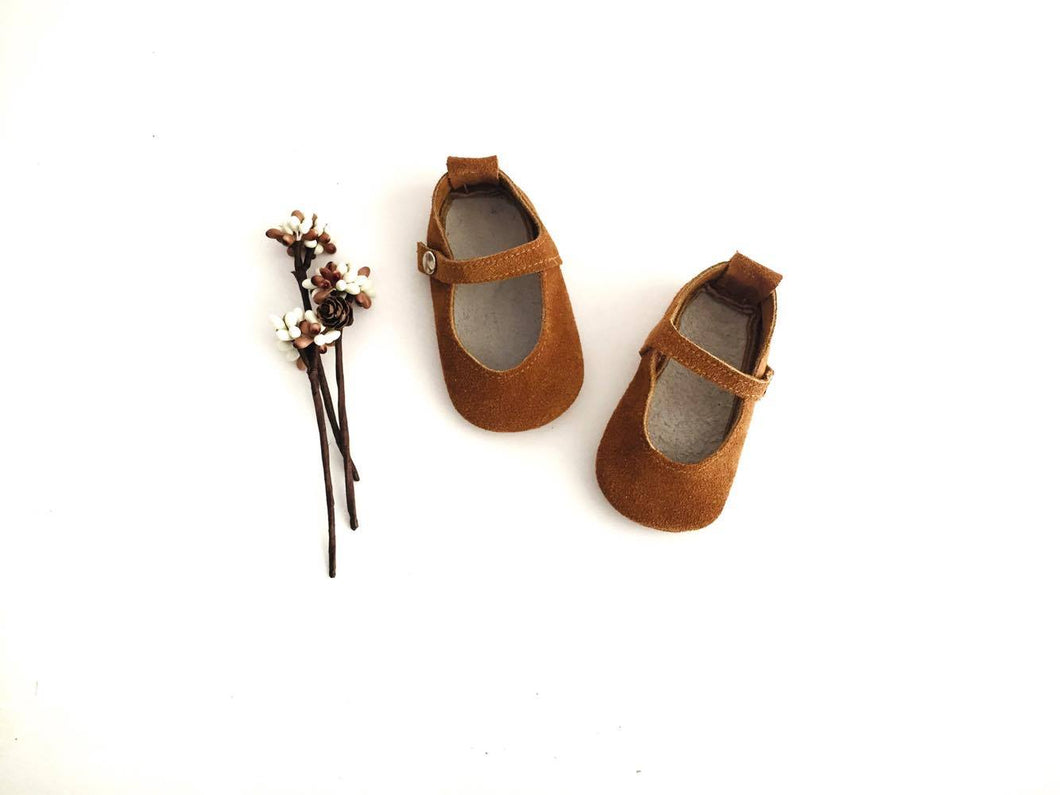 Mary Janes Straps - Toasted