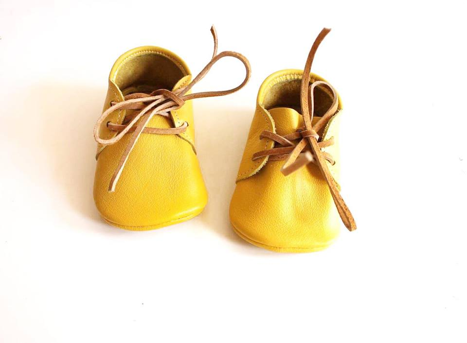 Yellow oxfords