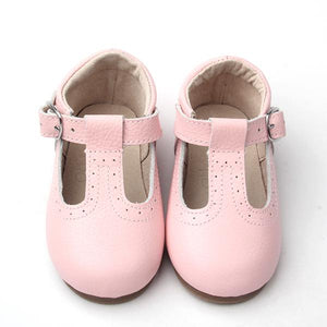 T-straps Baby pink - LUXE + RO