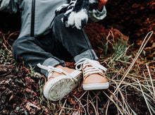 Little Hard Soled Sneakers | Nude - LUXE + RO
