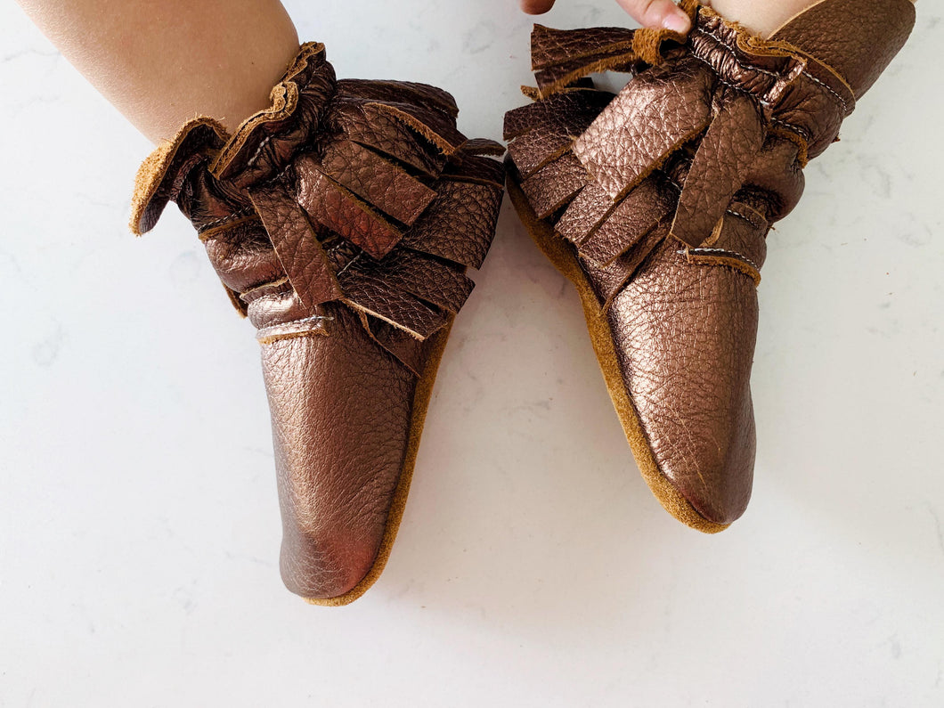 Double Fringed Boots - The Jungle Boots - LUXE + RO
