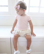 Ballerinas - White and pink soles with Big bows - LUXE + RO