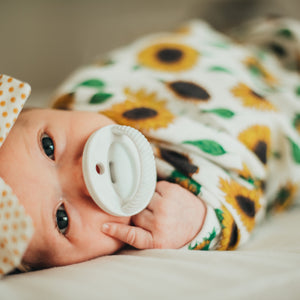 The LUXIE | White Pacifier
