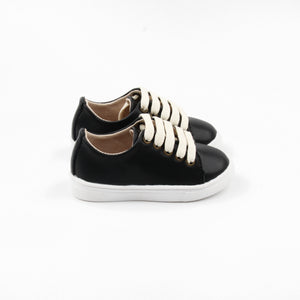 Little Sneakers Hard soled - Black - LUXE + RO