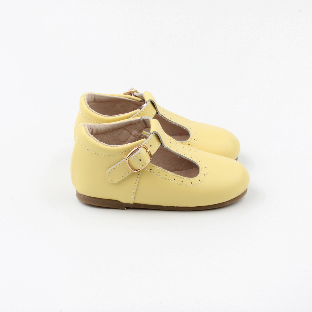 T-straps Spring Yellow - LUXE + RO