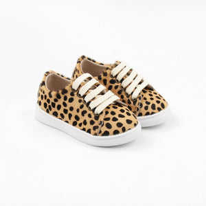 Little Sneakers Hard soled - Leopard