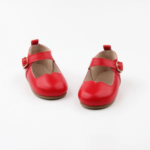 Mary Janes RED - Hard soles RTS - LUXE + RO