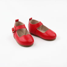 Mary Janes RED - Hard soles RTS
