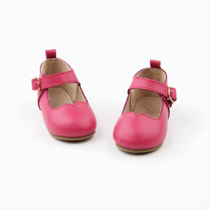 Mary Janes HOT PINK - Hard soles RTS