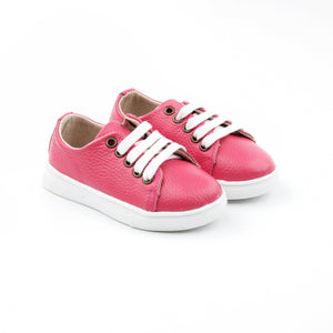 Hard Sole Tennis Shoes | Hot Pink - LUXE + RO