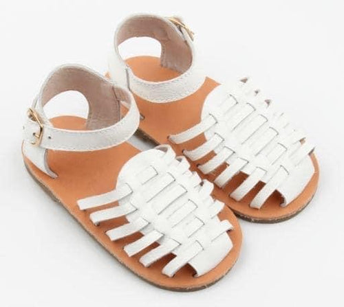 SUMMER SANDALS WHITE - LUXE + RO