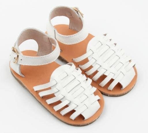 PRE-ORDER SUMMER SANDALS WHITE - LUXE + RO