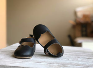 Mary Janes  Black - Hard soles RTS - LUXE + RO